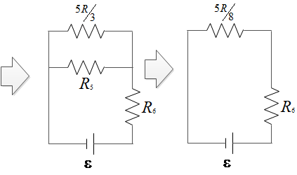 equivalent resistor for this solution